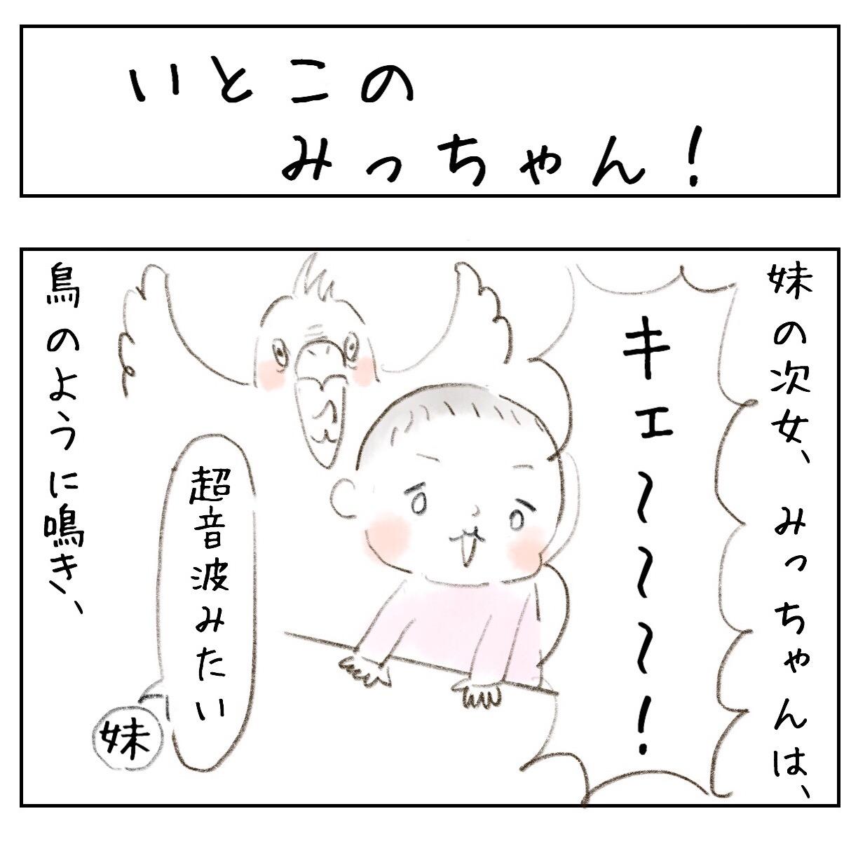 いとこのみっちゃん!